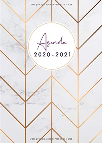 Agenda 2020 2021: Agenda 2020/2021 A5 - Organiza tu día -...