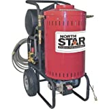 Northstar Electric Wet Steam and Hot Water Portable Pressure Power Washer - 2700 PSI, 2.5 GPM, 230 Volt, Direct Drive, Model Number 157306