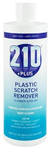 Sumner Laboratories 23305 210 Plus Plastic Scratch Remover Cleaner and Polish, 15 fl. oz.