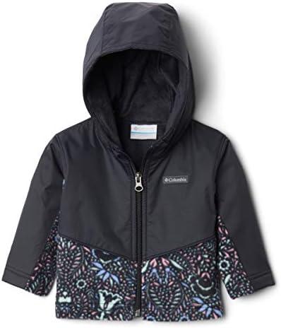 Columbia unisex baby Steens Mt Overlay Hoodie Pullover Sweater Black Bloom Dot Print Black 3 product image