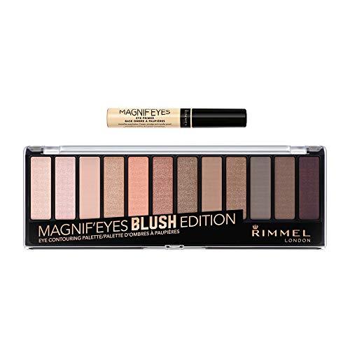 Rimmel Magnif'eyes Makeup Kit With Eyeshadow and Primer, Blush