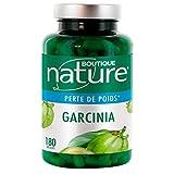 Boutique Nature – Complemento alimentario – adelgazante – Garcinia – 180 cápsulas – Promueve la pérdida de peso