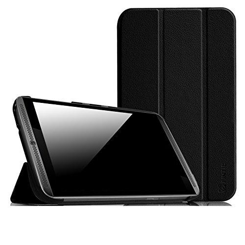 Fintie Hülle für NVIDIA Shield Tablet K1 8 Zoll 2015 Version - Ultra Schlank superleicht Ständer SlimShell Cover Case Schutzhülle Etui Tasche mit Auto Sleep/Wake Funktion, Schwarz