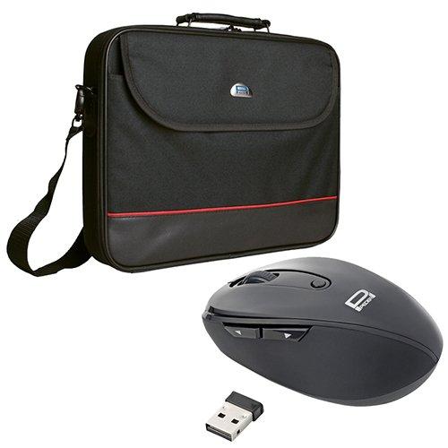 Pedea Laptoptasche Trendline Umhängetasche Messenger Bag 13,3/15,6/17,3/18,4/20,1 Zoll (18,4 Zoll, Tasche mit Maus)