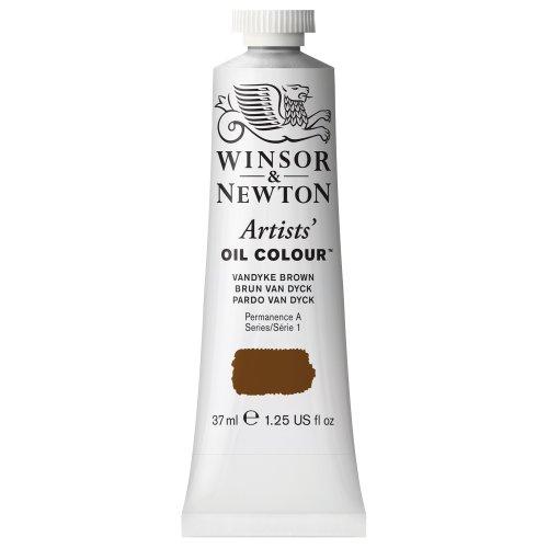 Winsor & Newton 1214676 Artists' Oil Color Paint, 37-ml Tube, Vandyke Brown