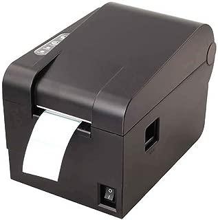 LBSX Impresora de etiquetas de impresión térmica directa, de grado comercial de 56 mm Impresora de etiquetas fabricante de la máquina escritor, la conectividad del puerto USB, compatible con Amazon, E