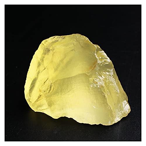 YSJJDRT Cristal Natural Rugoso 1 UNID Natural Amarillo CITRÍA CISTAL Cristal COLECCIÓN DE Cristal Reiki Curación de la Curación Espécimen áspero de Piedra Suelta Chakra minerales decoración