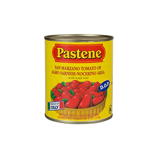 Pastene San Marzano Tomatoes D.O.P., 28.6 Ounce...