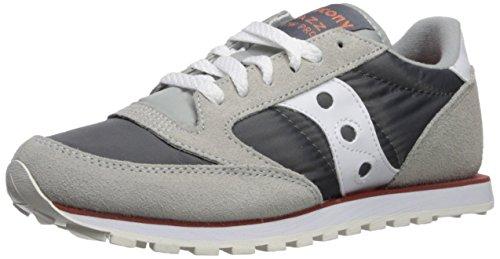 Saucony Originals Women's Jazz Low Pro Sneaker,Grey/White,8 M US