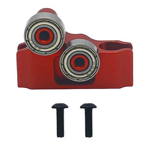 for 1 7 Arrma Mount 1set Alloy Center Driveshaft High Speed Support Set Ara109011 Ara109001 Ara7617V2 Ara7615V2 Infraction Limitless Felony(red)