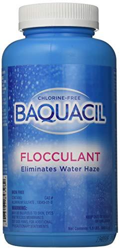 Baquacil 84398 Flocculant Swimming Pool Clarifier, 1.5 lbs