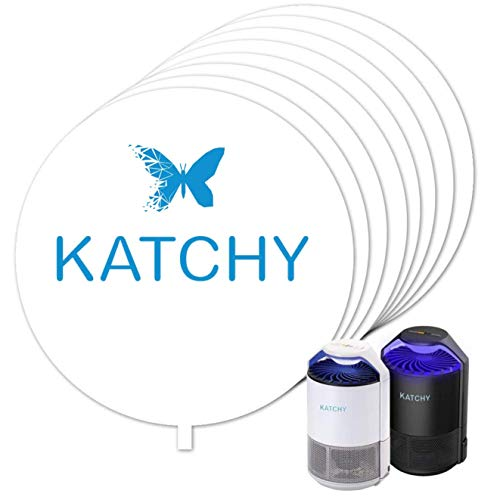 KATCHY Insect Trap 8-Pack of Refillable Glue Boards