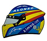 Imán Casco Alpine F1 2021 Fernando Alonso