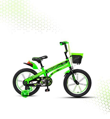 "Geekay Smart Boy BICYCLE (Green, 14"" Inch)"