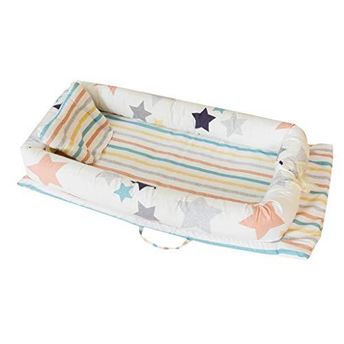 Lowest Prices! QIANLAI Newborn Baby Sleeping Multi-Function Folding Anti-Pressure Bionic Nest Bed Cr...