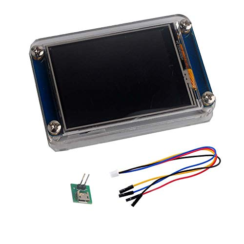 Nextion 3.5 Display NX4024T035 Resistive Touch Screen HMI LCD Module 480x320 TFT Panel + Acrylic Clear Case for Arduino Raspberry Pi (3.5 inch)