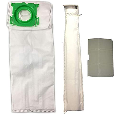 Micro Lined DVC Replacement for Sebo, Windsor, Kenmore Service Box Vacuum Bag and Filter Kit. 10 Bags and 2 Filters.