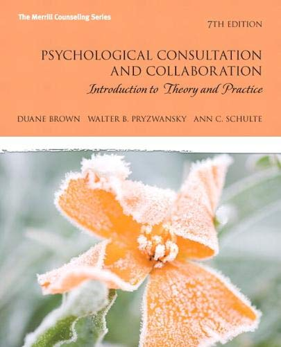 Psychological Consultation and Collaboration:...