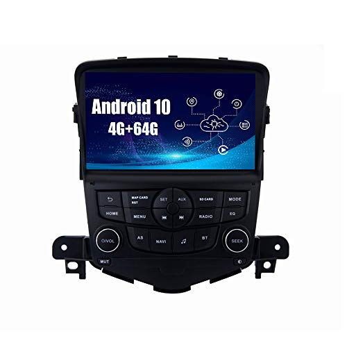 SYGAV Android Car Stereo for 2008-2015 Chevrolet Chevy Cruze Radio Upgrade Built-in Carplay Android Auto 8 Inch Touch Screen GPS Navigation Head Unit