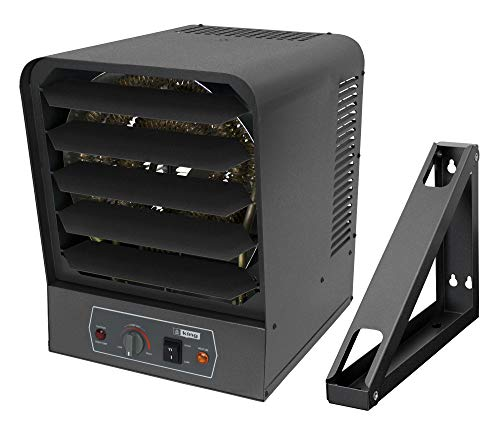 KING GH2410TB Electric Garage Heater w/Bracket and Thermostat, 10000W / 240V