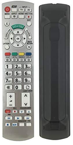 Ersatz Fernbedienung passend für Panasonic TX-L32ETN53 | TX-L32ETS51 | TX-L32ETX54 | TX-L37DT30B