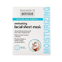 Dermactin-TS 4ピースフェイシャルモイスチャライジングシートマスク (並行輸入品)