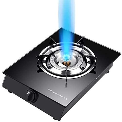 YXYY Estufa de Gas - Quemador de GLP de Hierro Fundido Cocina para Acampar Quemador de GLP, Catering de propano para Acampar al Aire Libre [Clase energética A] (Color: D)