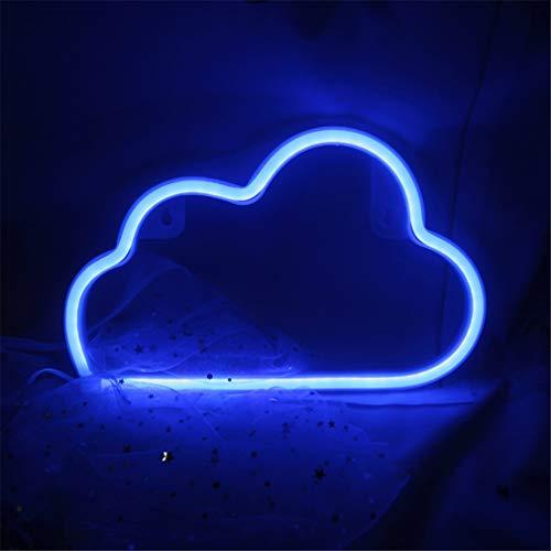 LED Neonlicht-Zeichen-Mond-Stern-Herz-Nachtlicht für Kinderzimmer-Wand-Kunst-romantisches Weihnachtsgeburtstagsgeschenk