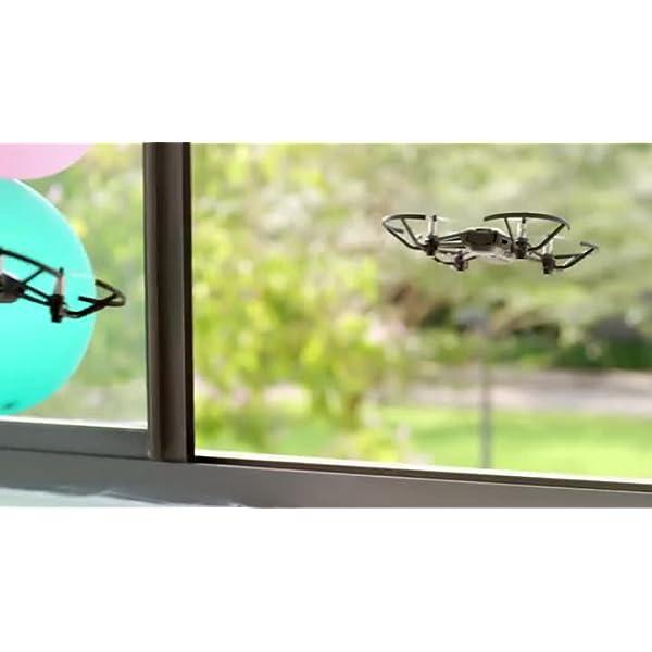 Dji Ryze Tello Mini Drone Ottimo per Creare Video con Ez Shots, Occhiali Vr e Compatibilità con Controller di Gioco, Trasmissione HD a 720P e Raggio di 100 Metri, 5 MP, Edizione Standard 7 spesavip
