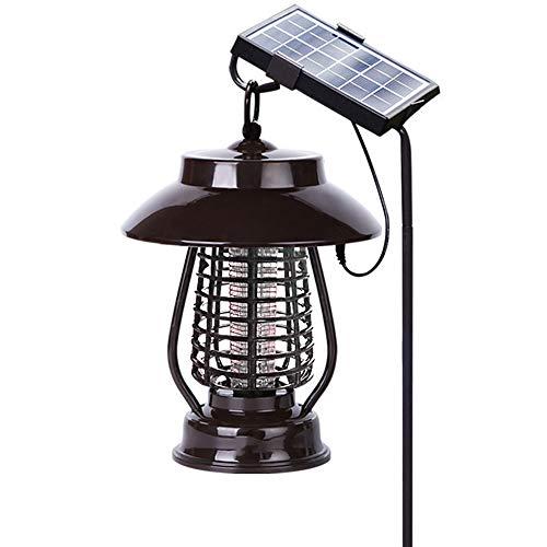 Lámpara Repelente De Mosquitos con Energía Solar, Lámpara Repelente De Linterna LED Silenciosa Y Sin Radiación, Repelente De Mosquitos Impermeable para Exteriores, para Iluminación Exterior