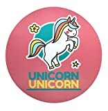 Unicorn Mouse Pad Cute 7.29 Inch Easy to Clean Mouse Pad for Kids Waterproof,Non-Slip Rubber...