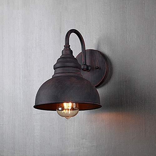 Preisvergleich Produktbild ZSAIMD Außenlicht Außen LEDIndustrial Wandleuchte Außenwandleuchte Einfache Nordic StyleWall Lampe IP65 Wasserdichte Wandleuchten Gartenleuchte Vintage Wandleuchte Balkon Wandleuchte E27