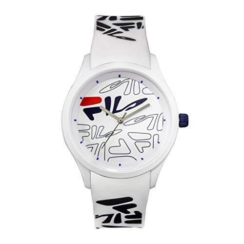 OROLOGIO FILA Analog Watch - Watches for Women - Womens Watches - Cool Watches for Men - Mens Wrist Watch - Running Watch - Unisex Watch - Fila Watches for Men - White Fila Watch