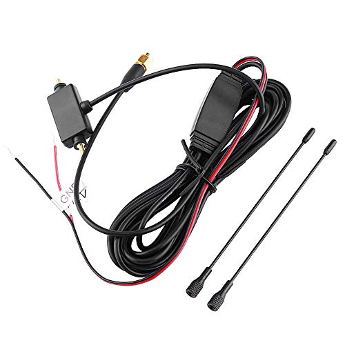 Car SMA Active Antenna SMA Antenna with Built-in Amplifier for Digital TV Strong Receiving Signal Car Accessory
