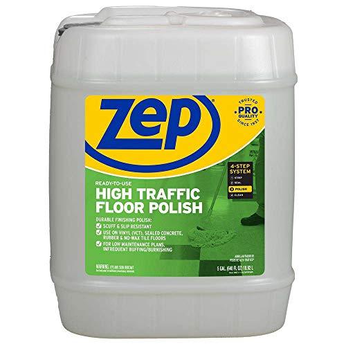 Zep High-Traffic Floor Polish 5 Gallon (1 Pail) Pro Formula