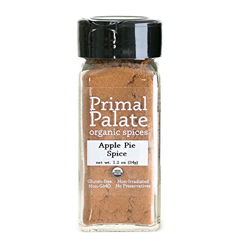 Primal Palate Organic Spices Apple Pie Spice, Certified Organic, 1.2 oz Bottle