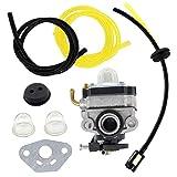 USPEEDA Carburetor for WYL-242 WYL-242-1 WYL242 Fuel Line Primer Bulb Grommet