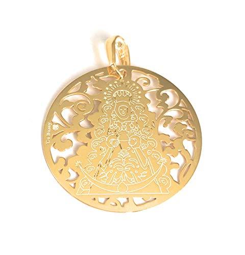 Medalla Virgen del Rocio en Plata de Ley