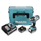 Makita DDF 484RFJ 18V atornillador Brushless 54Nm en Makpac con 2x BL18303,0Ah Batería...