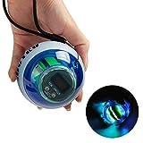 KKL Powerball Gyroscope Exerciser,Wrist Power Ball Strength Training Equipment,AutoStart Spinner Force Ball with LED Lighting & Speed Meter Improve Wrist and Arm Strength for Hockey