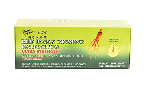 Prince of Peace Red Panax Ginseng Extractum Ultra Strength 30 Vial(s) by Prince of Peace