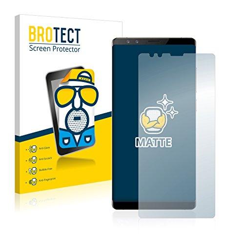 BROTECT 2X Entspiegelungs-Schutzfolie kompatibel mit ZTE Nubia Z17s Bildschirmschutz-Folie Matt, Anti-Reflex, Anti-Fingerprint