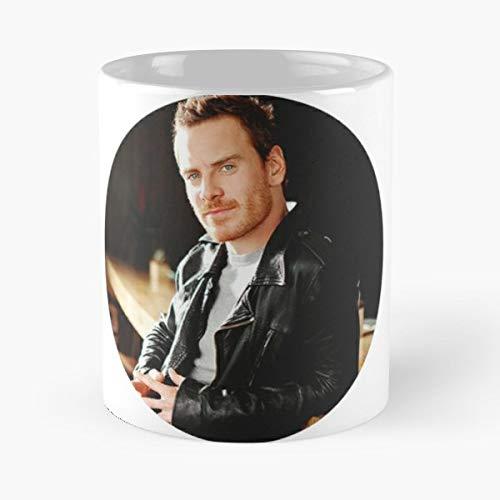 Michael Fassbender X Men Steve Jobs Assassins Creed Inglourious Basterds Macbeth Actor - Best 11 oz Kaffee-Becher - Tasse Kaffee Motive