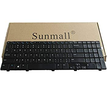 SUNMALL Laptop Keyboard Replacement Without Backlit Compatible with Inspiron 15 3521 3537 15v-1316 15R 3521 3537 5521 5528 5537 5535 M531R atitude 3540 Vostro 2521 US Layout P/N NSK-LA0SC NSK-DY0SW