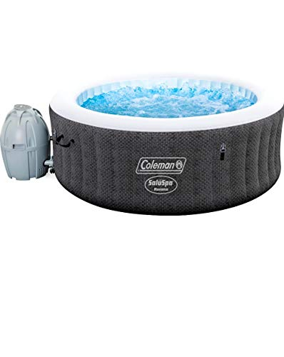 Coleman Saluspa 71' x 26' Havana AirJet Inflatable Hot Tub with Remote Control, 2-4 Person