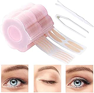 720 Pcs Eyelid Tape, Invisible Double Eyelid Lift Strips Instant Eyelid Stickers, Self-Adhesive Eye Tapes Fiber for Hooded...