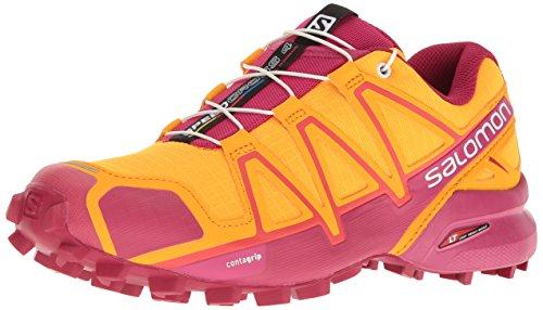 Salomon Speedcross 4 W, Zapatillas de Trail Running para Mujer, Naranja (Bright...