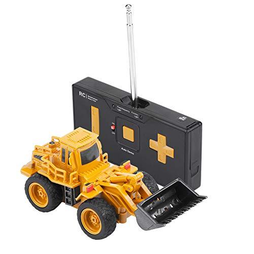 RC Auto kaufen Baufahrzeug Bild 3: Fernbedienung Bagger LKW Bagger Spielzeug RC Kran Mini Baufahrzeug Kinder Geschenk(Kipper)*