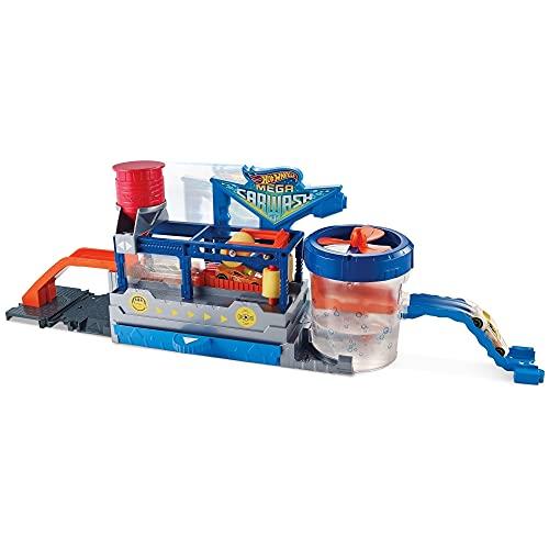 Pista Mega Lava Rápido, Hot Wheels, Mattel