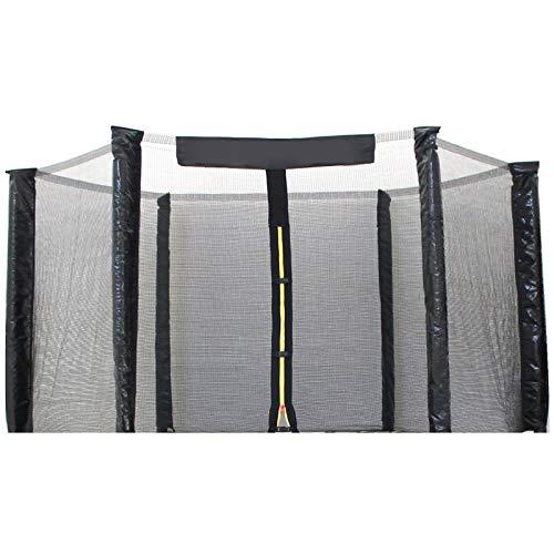 YELLOO Red de protección de seguridad de repuesto para cama elástica de 185 a 427 cm de diámetro (Redes por diámetro 245)